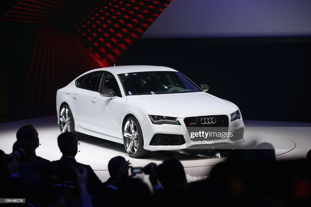 Audi introduces the RS7 at the North American International Auto Show on January 14, 2013 in Detroit, Michigan. The auto show will be open to the public January 19-27.