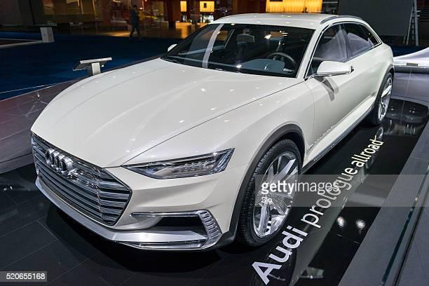 Audi Prologue Allroad concept car