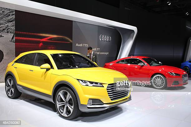 audi tt coupe stock photos and pictures getty images. Black Bedroom Furniture Sets. Home Design Ideas
