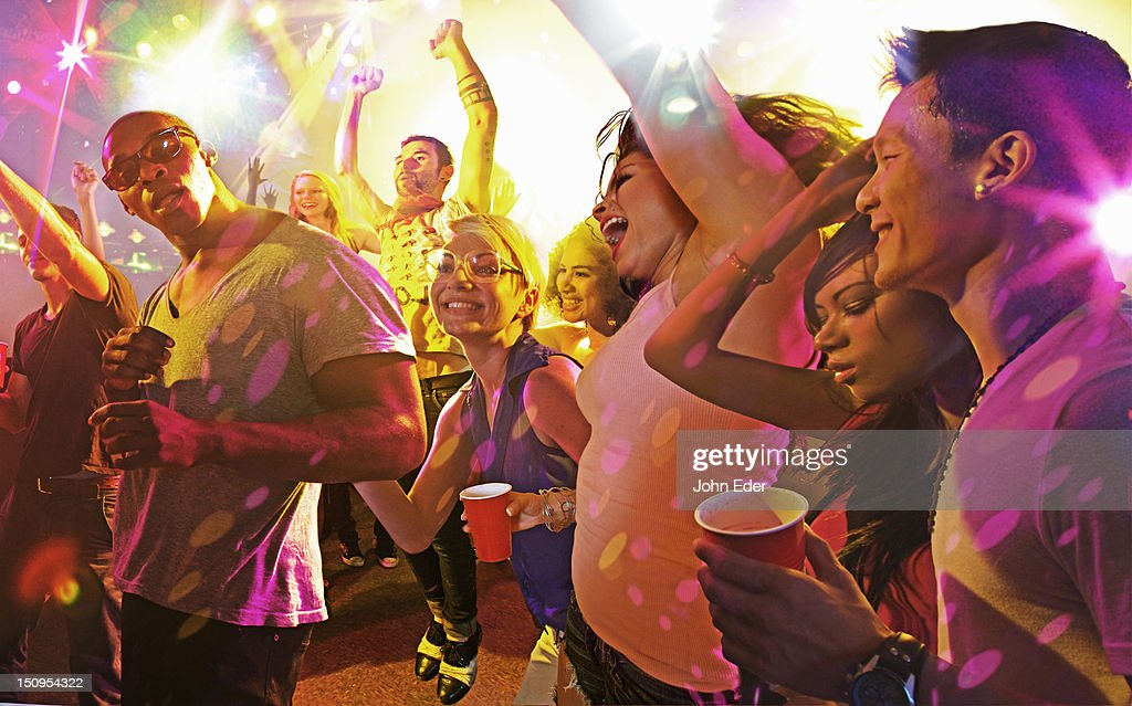 Audience at a performance : Stock Photo