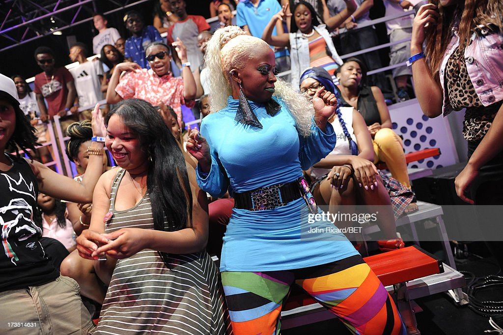 Audience at BET's 106 & Park at BET Studios on July 15, 2013 in New York City.