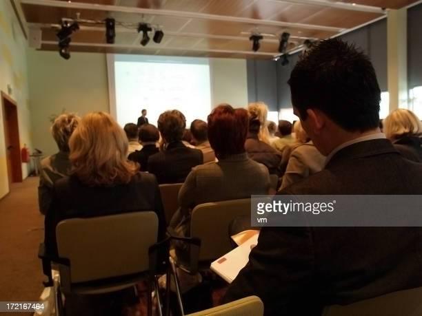 Audience at Business seminar