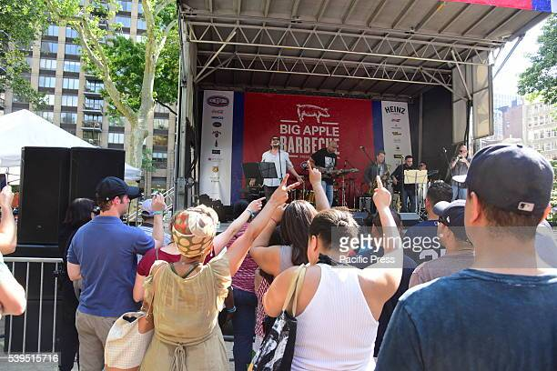 Audience grooves to Bernie Williams's music The annual Madison Square BBQ festival brought smoked specialists from all over the New York area to...