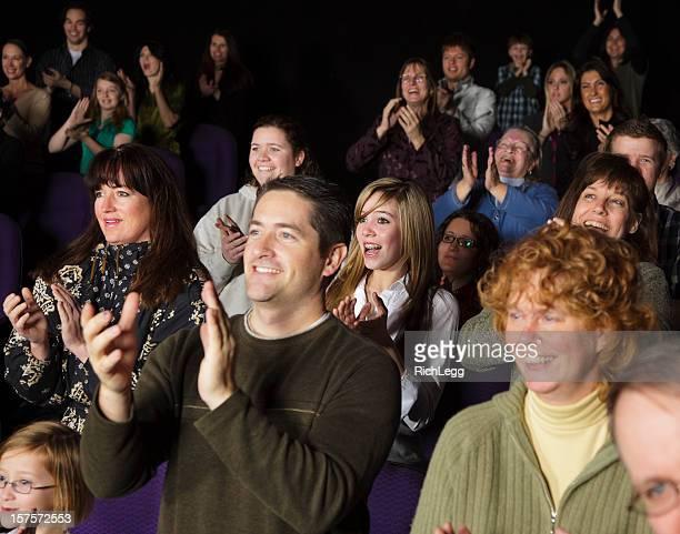 Audiência houver uma ovação de pé