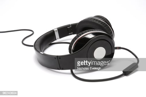 Audio headphones and cord