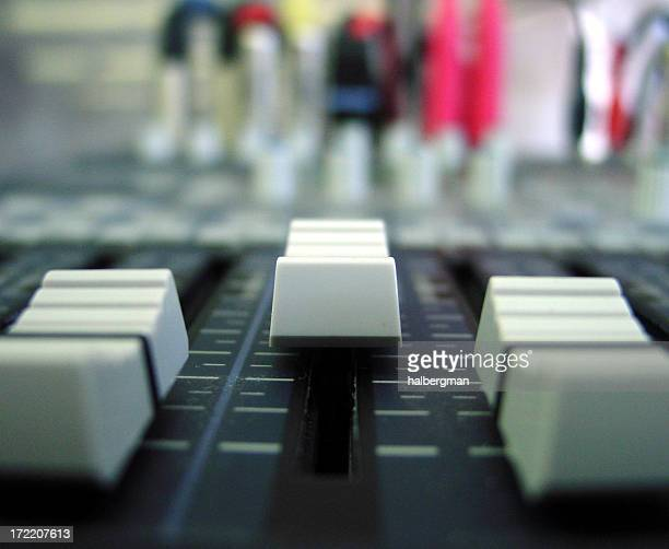 Audio Mixing Board 1