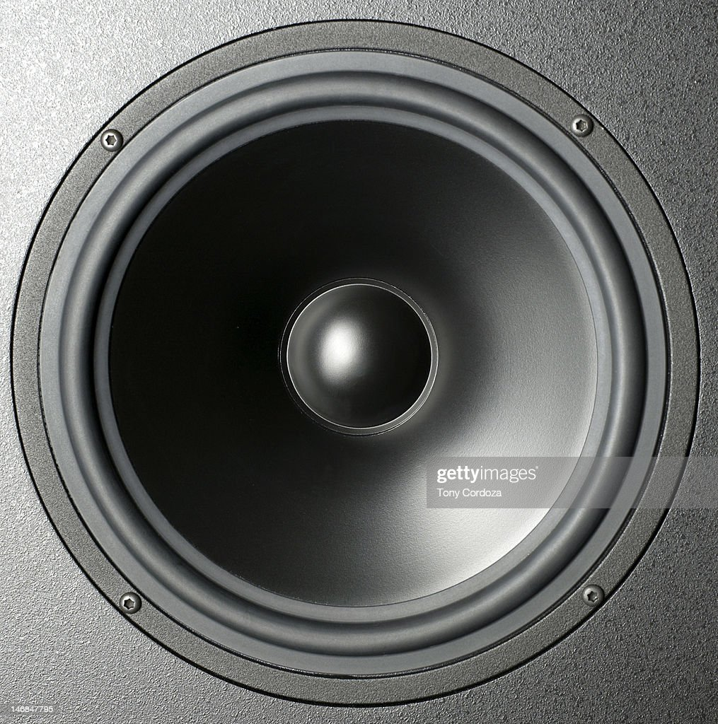Audio speaker cone : Stock Photo