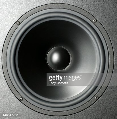 Audio speaker cone : Photo