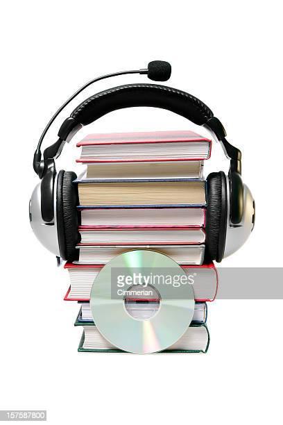 Audiolibri concetto