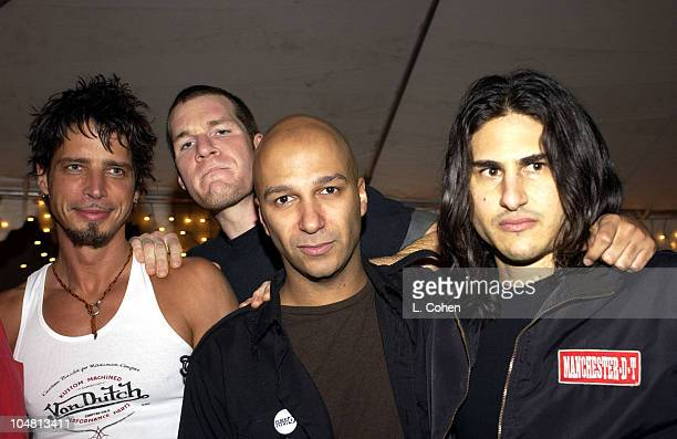 Audioslave during 2002 KROQ Almost Acoustic Christmas at Universal Amphitheatre in Universal City California United States