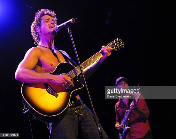 Audioslave during Lollapalooza 2003 Chicago at Tweeter Center in Tinley Park Illinois United States