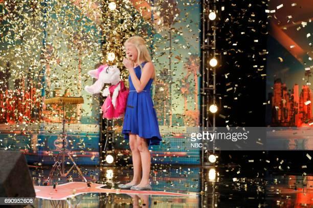 S GOT TALENT Auditions Pasadena Civic Auditorium Pictured Darci Lynne