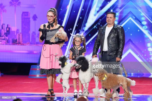 S GOT TALENT Auditions Pasadena Civic Auditorium Pictured Pompeyo Family