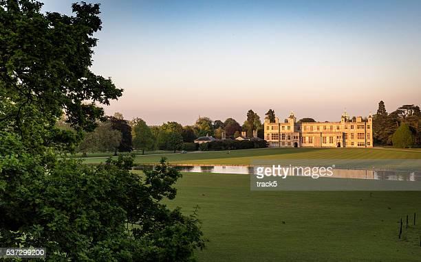 Audley Ende Haus, das Safran Walden, Essex, England