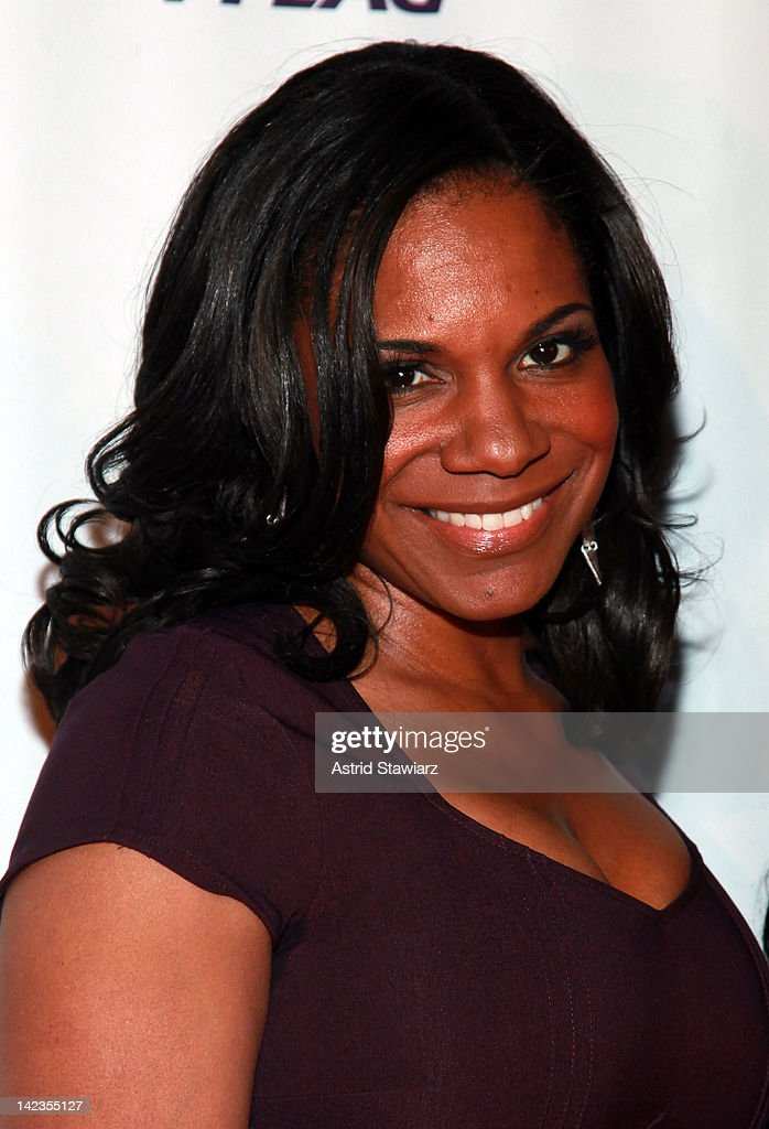Audra McDonald attends PFLAG National's 2012 Straight for Equality Awards gala at the Marriott Marquis Times Square on April 2, 2012 in New York City.