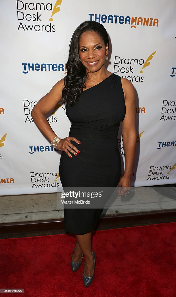 <a gi-track='captionPersonalityLinkClicked' href=/galleries/search?phrase=Audra+McDonald&family=editorial&specificpeople=212782 ng-click='$event.stopPropagation()'>Audra McDonald</a> attends the 2014 Drama Desk Awards at Town Hall on June 1, 2014 in New York City.