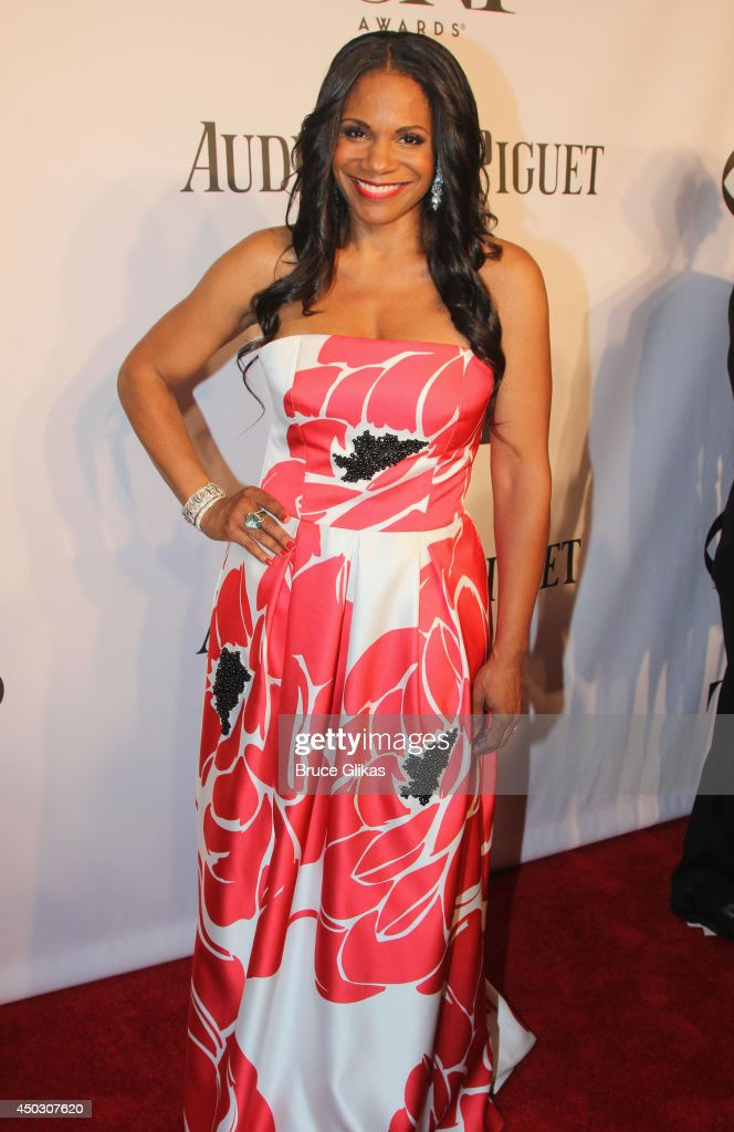Audra McDonald attends the American Theatre Wing's 68th Annual Tony Awards at Radio City Music Hall on June 8, 2014 in New York City.