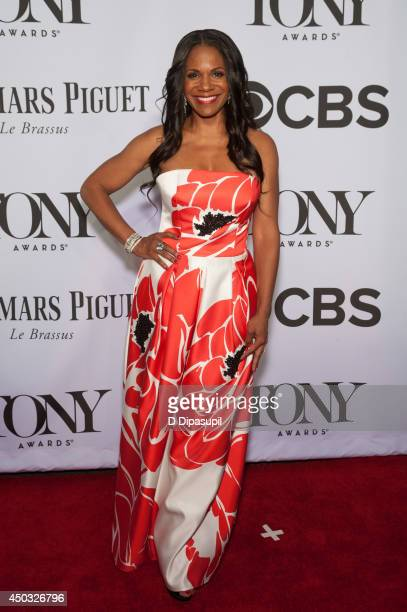 Audra McDonald attends the American Theatre Wing's 68th Annual Tony Awards at Radio City Music Hall on June 8 2014 in New York City