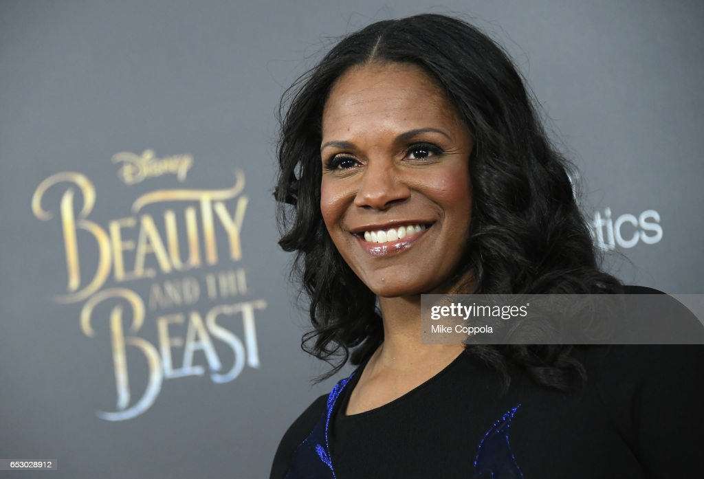 Audra McDonald attends the 'Beauty And The Beast' New York Screening at Alice Tully Hall at Lincoln Center on March 13, 2017 in New York City.