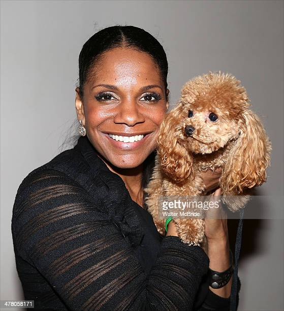 Audra McDonald attends the 'Lady Day' dog auditions at Emerson's Bar And Grill on March 11 2014 in New York City