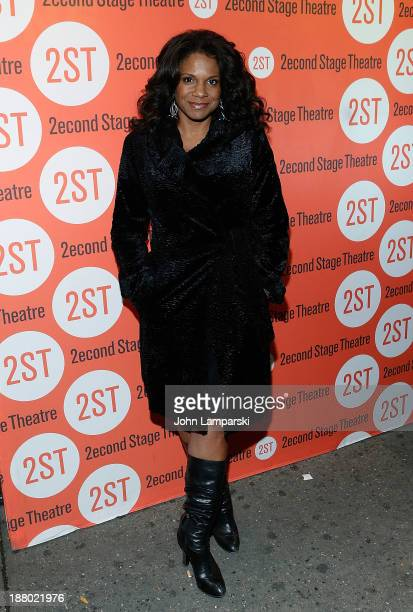 Audra McDonald attends the offBroadway opening night for 'Little Miss Sunshine' at Second Stage Theatre on November 14 2013 in New York City