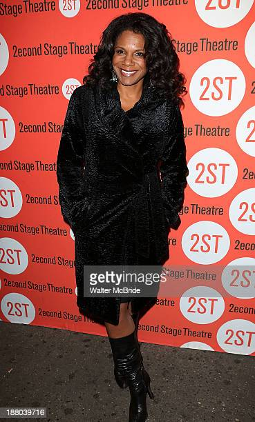 Audra McDonald attends the opening night production of 'Little Miss Sunshine' at Second Stage Theatre on November 14 2013 in New York City