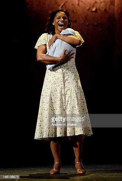 Audra McDonald onstage at the 66th Annual Tony Awards at The Beacon Theatre on June 10 2012 in New York City