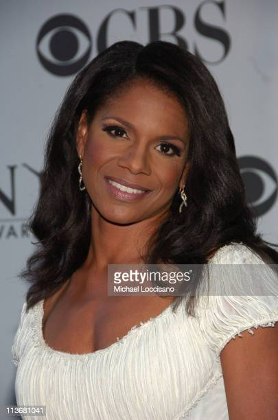 Audra McDonald presenter during 60th Annual Tony Awards Arrivals at Radio City Music Hall in New York City New York United States
