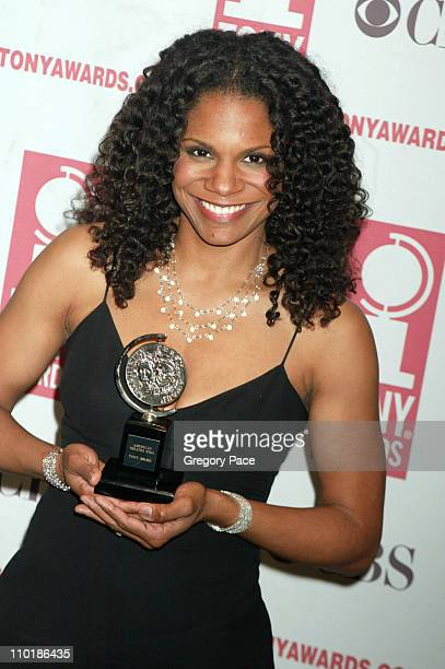 Audra McDonald winner Best Featured Actress in a Play for 'A Raisin in the Sun'