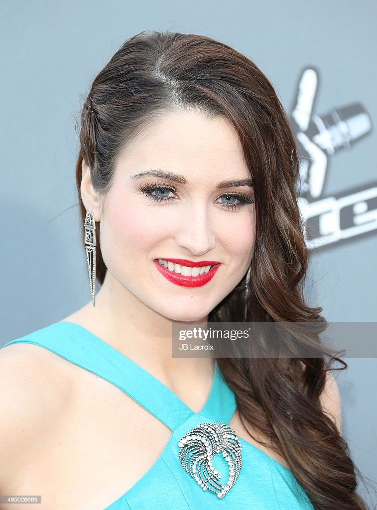 <a gi-track='captionPersonalityLinkClicked' href=/galleries/search?phrase=Audra+McLaughlin&family=editorial&specificpeople=12523413 ng-click='$event.stopPropagation()'>Audra McLaughlin</a> attends 'The Voice' Season 6 Top 12 Red Carpet Event on April 15, 2014 in Universal City, California.