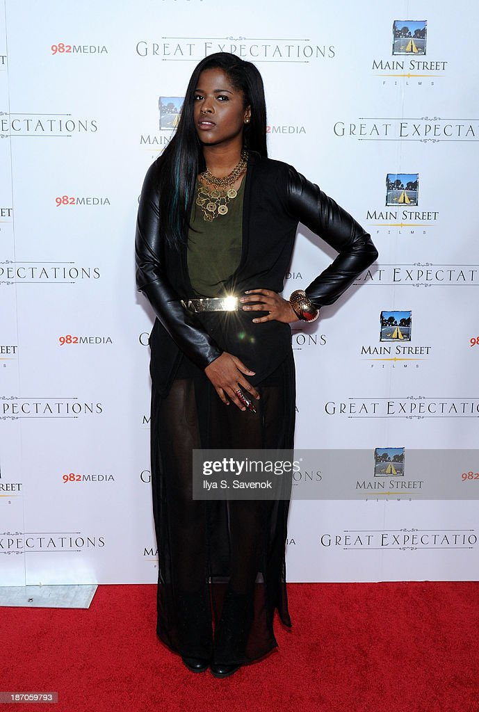 Audra The Rapper attends the New York premiere of 'Charles Dickens' Great Expectations' at AMC Loews Lincoln Square 13 theater on November 5, 2013 in New York City.