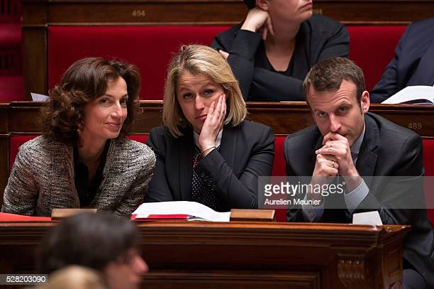 Audrey Azoulay French Minister of Culture and Communication Barbara Pompili Secretary of State in charge of Biodiversity and French Minister of...