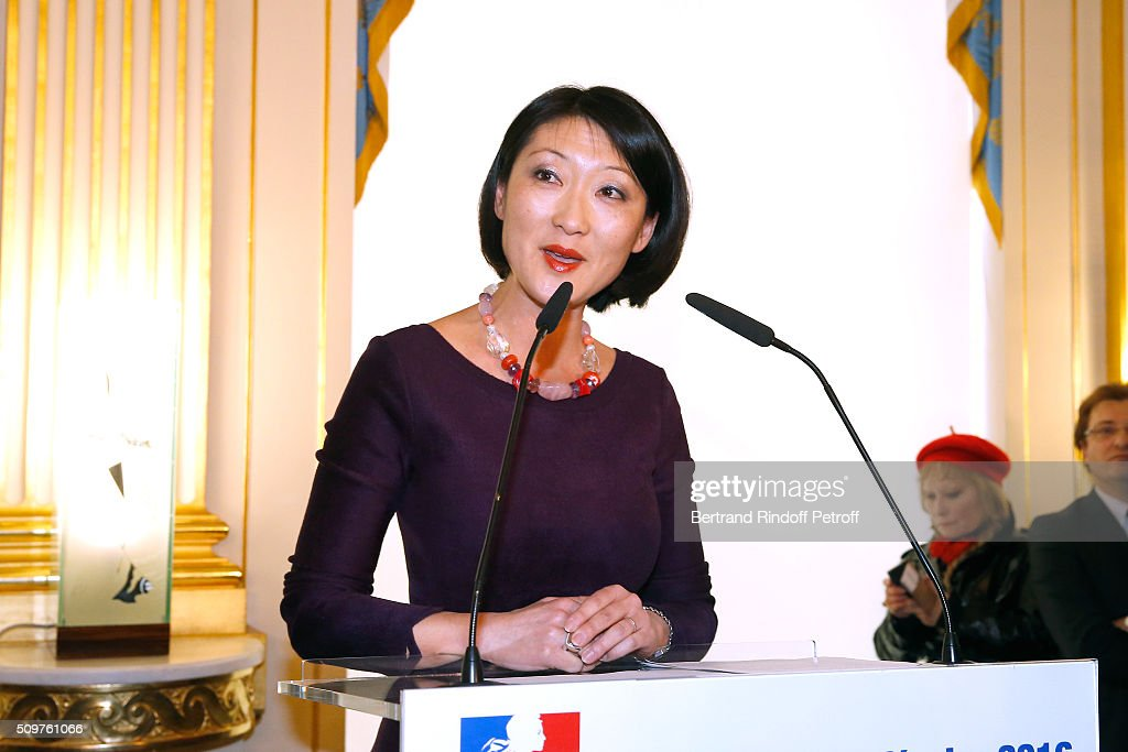 Audrey Azoulay (Not in Picture) Newly Appointed French Minister of Culture and Communication instead of Fleur Pellerin (in picture) at Minister of Culture on February 12, 2016 in Paris, France.