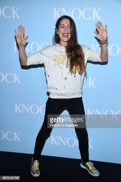 Audrey Dana attends 'Knock' Premiere at Cinema UGC Normandie on October 16 2017 in Paris France