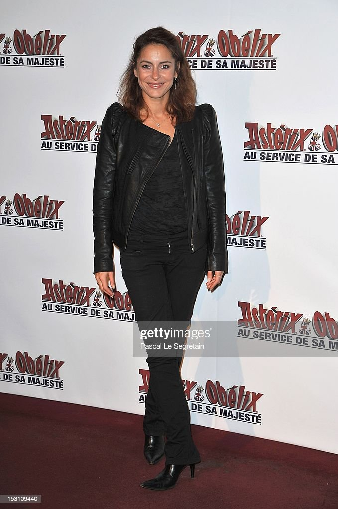 Audrey Dana attends the 'Asterix & Obelix: Au Service De Sa Majeste' premiere at Le Grand Rex on September 30, 2012 in Paris, France.