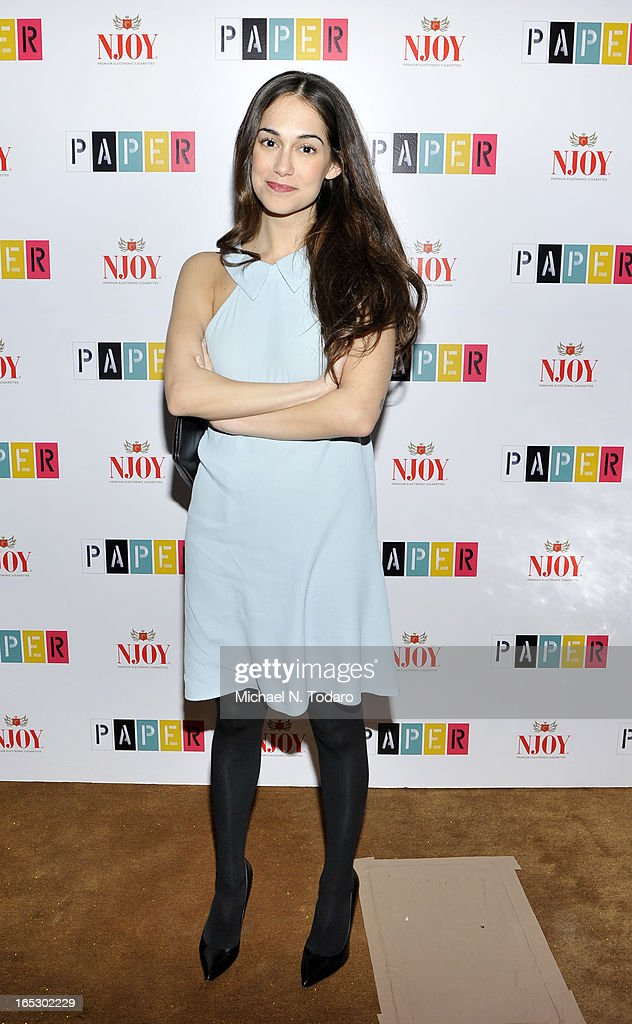 Audrey Gelman attends Paper Magazine's 16th Annual Beautiful People Party at Top of The Standard Hotel on April 2, 2013 in New York City.