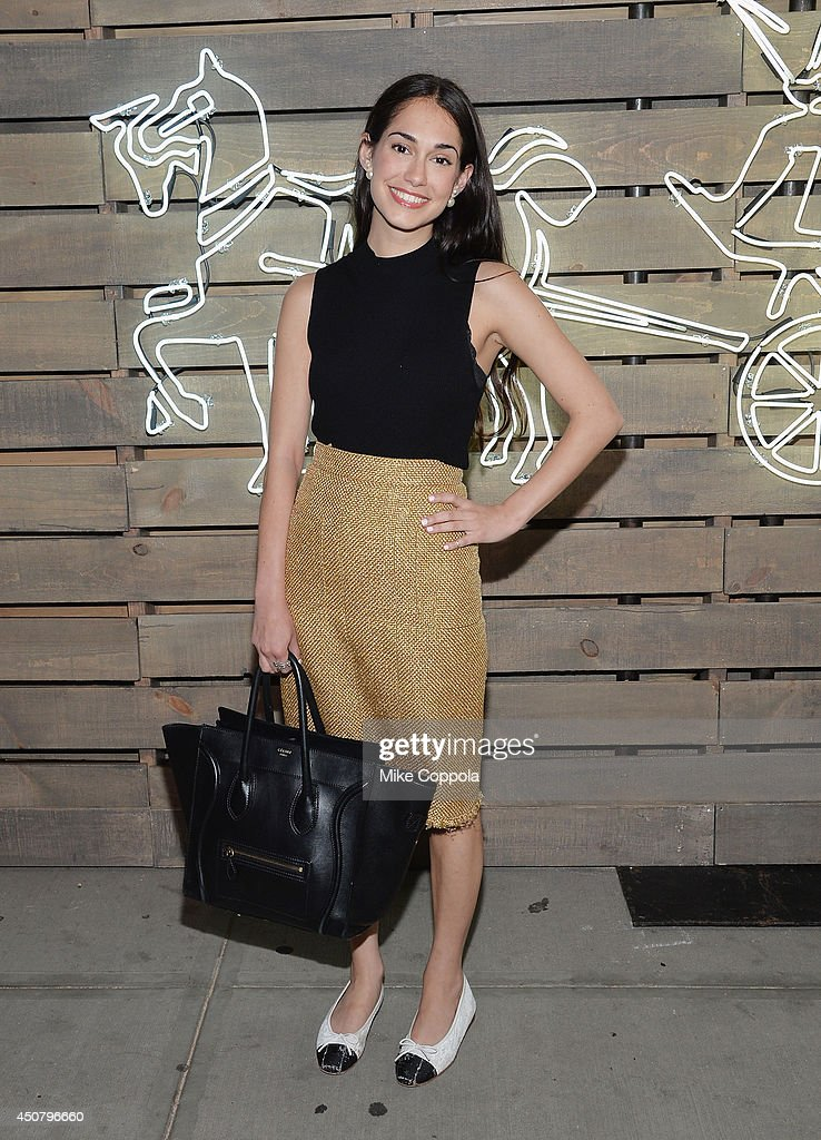 Audrey Gelman attends the 2014 Summer Party presented by Coach and Friends Of The Highline at The Highline on June 17 2014 in New York City