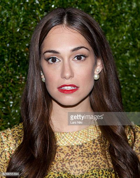 Audrey Gelman attends the 'Chanel Artists Dinner' during the 2015 Tribeca Film Festival at Balthazar in New York City �� LAN