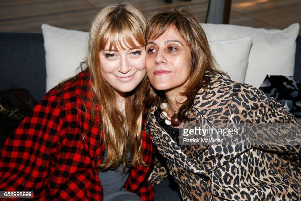 Audrey Guffman and Annie O'Hayan attend THE COOPER SQUARE HOTEL MINIBAR EXCLUSIVES UNVEILING at Cooper Square Hotel Penthouse on April 21 2009 in New...