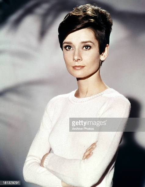 Audrey Hepburn in publicity portrait for the film 'Wait Until Dark' 1967