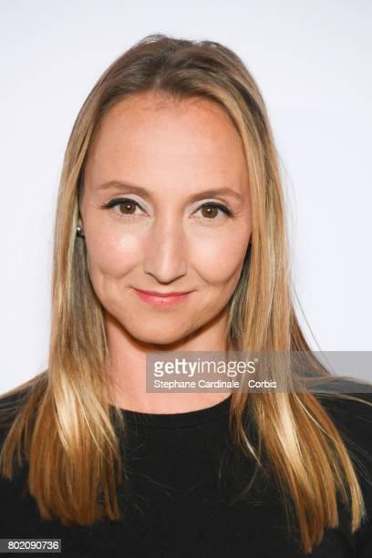 Audrey Lamy attends the Despicable Me Paris Premiere at Cinema Gaumont Marignan on June 27 2017 in Paris France