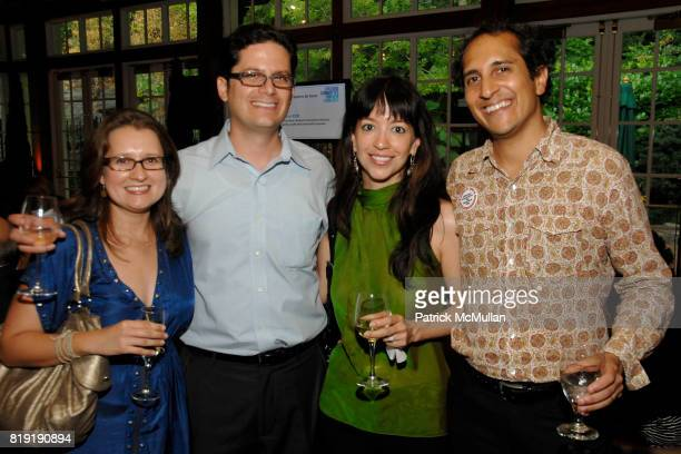 Audrey Leibovich Brian Alalu Lisanne Gagnon and Saleen Shah attend Citizens Summer Cocktail Celebrating 35 Years in NYC at The Loeb Boathouse on July...