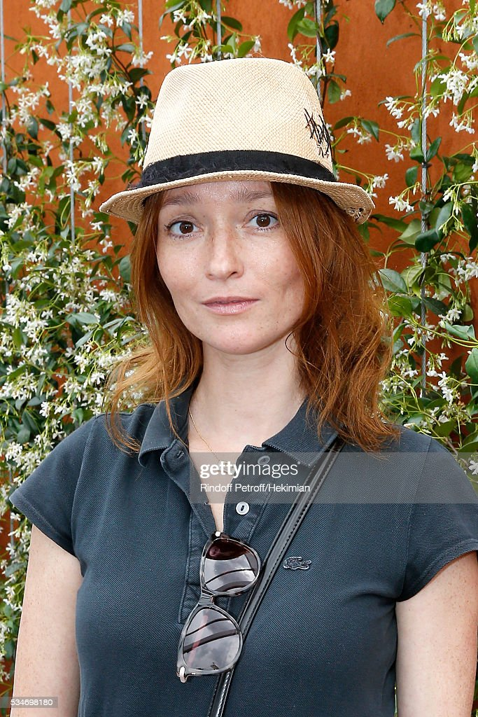 <a gi-track='captionPersonalityLinkClicked' href=/galleries/search?phrase=Audrey+Marnay&family=editorial&specificpeople=622579 ng-click='$event.stopPropagation()'>Audrey Marnay</a> attends the 2016 French Tennis Open - Day Six at Roland Garros on May 27, 2016 in Paris, France.