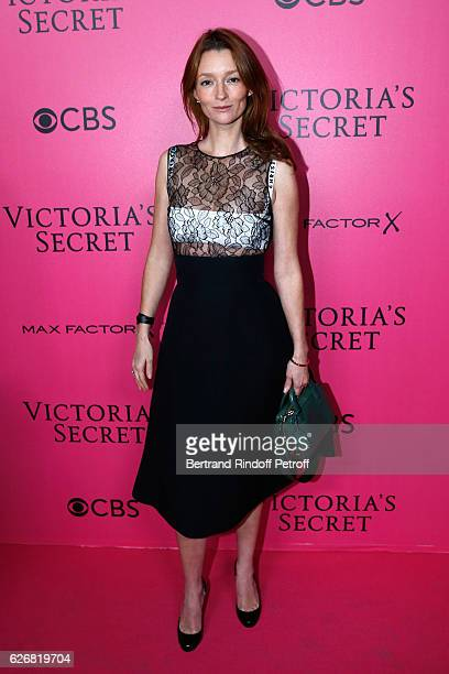 Audrey Marnay attends the 2016 Victoria's Secret Fashion Show Held at Grand Palais on November 30 2016 in Paris France