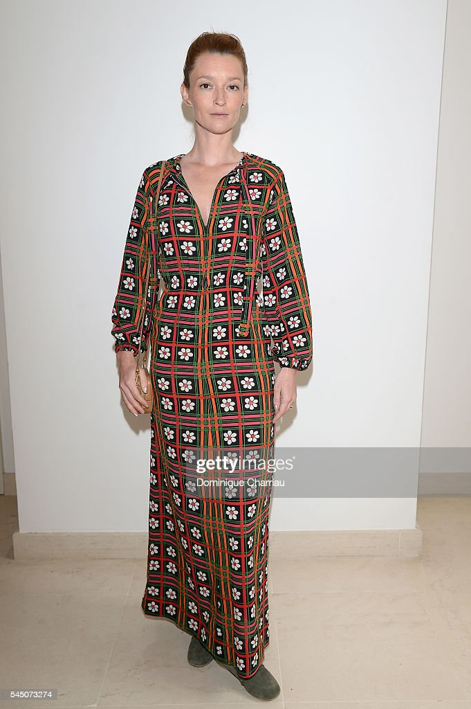 Audrey Marnay attends the Alexis Mabille Haute Couture Fall/Winter 2016-2017 show as part of Paris Fashion Week on July 5, 2016 in Paris, France.