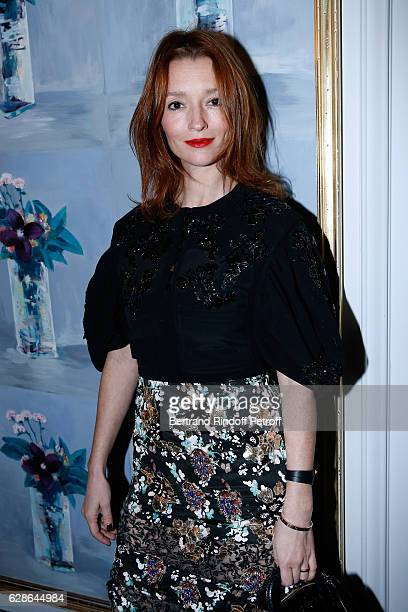 Audrey Marnay attends the Annual Charity Dinner hosted by the AEM Association Children of the World for Rwanda at Pavillon Ledoyen on December 8 2016...