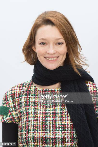 Audrey Marnay attends the Chanel show as part of the Paris Fashion Week Womenswear Fall/Winter 2017/2018 on March 7 2017 in Paris France