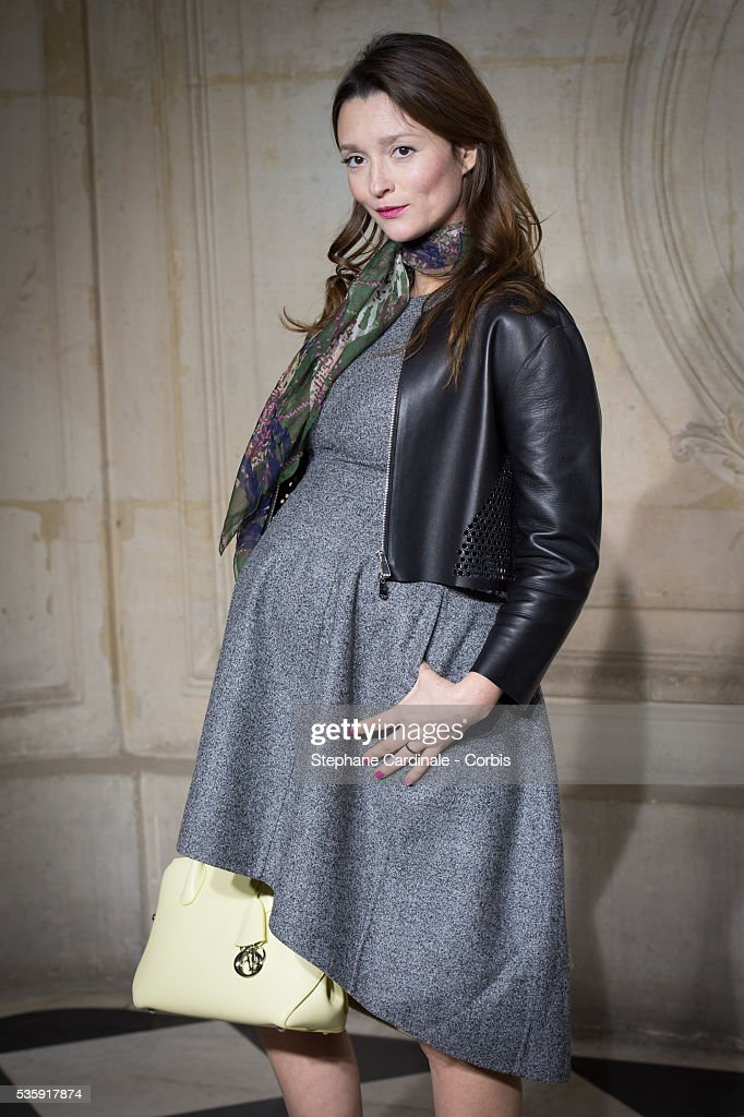 Audrey Marnay attends the Christian Dior show as part of Paris Fashion Week Haute Couture Spring/Summer 2014, in Paris.