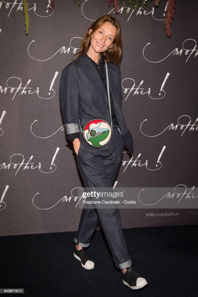 Audrey Marnay attends the French Premiere of 'mother!' at Cinema UGC Normandie on September 7, 2017 in Paris, France.