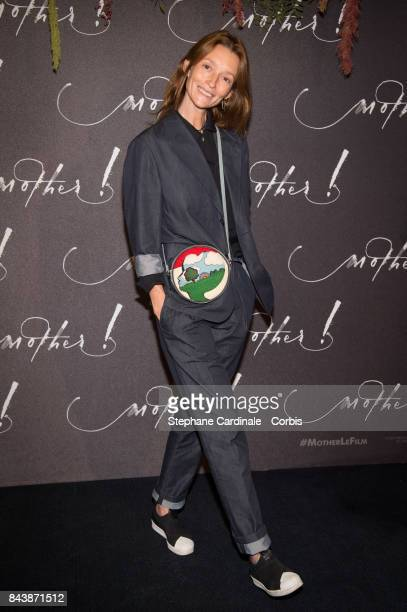 Audrey Marnay attends the French Premiere of 'mother' at Cinema UGC Normandie on September 7 2017 in Paris France
